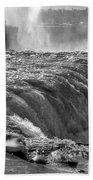 0013a Niagara Falls Winter Wonderland Series Beach Towel