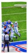 0016  Buffalo Bills Vs Jets 30dec12 Beach Towel