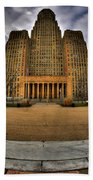 0019 City Hall From Within The Square Beach Towel