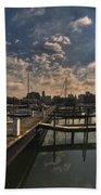 002 Erie Basin Marina D Dock Beach Towel