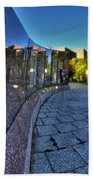 002 We Will Not Forget At The Erie Basin Marina Beach Towel