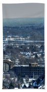 0045 After The Nov 2014 Storm Buffalo Ny Beach Towel