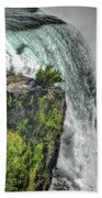 006 Niagara Falls Misty Blue Series Beach Towel