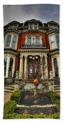008 Mansion On Delaware Ave Beach Towel