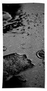008 Melting Snow Beach Towel