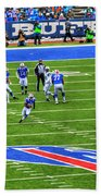 009 Buffalo Bills Vs Jets 30dec12 Beach Towel