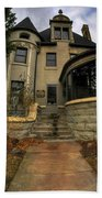 009 Law Offices Cornell Mansion Beach Towel