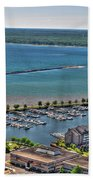 009 Visual Highs Of The Queen City Beach Towel