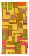0101 Abstract Thought Beach Towel