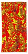 0118 Abstract Thought Beach Towel