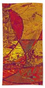 0119 Abstract Thought Beach Towel