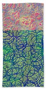 0122 Abstract Thought Beach Towel