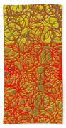 0124 Abstract Thought Beach Towel