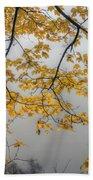 0135 Autumn Gold  Beach Towel