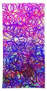 0144 Abstract Thought Beach Towel