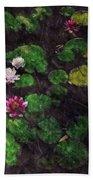 0151-lily -  Watercolor 2 Sl Beach Sheet