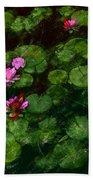 0151-lily - Chalk 1 Sl Beach Towel