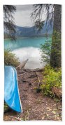 0162 Emerald Lake Beach Towel