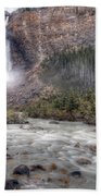 0163 Takakkaw Falls Beach Towel