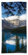 0164 Moraine Lake Beach Towel