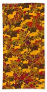 0167 Abstract Thought Beach Towel