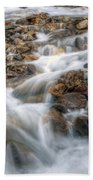 0190 Glacial Runoff 2 Beach Towel