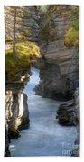 0191 Athabasca Canyon 2 Beach Towel