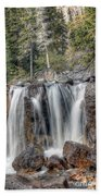 0206 Tangle Creek Falls 2 Beach Towel