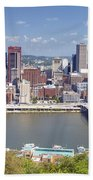 0240 Pittsburgh Pennsylvania Beach Towel
