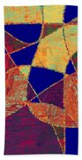 0268 Abstract Thought Beach Sheet