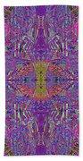 0320 Abstract Thoyght Beach Towel