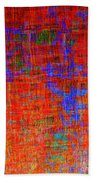 0325 Abstract Thought Beach Towel