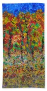 035 Fall Colors Beach Towel