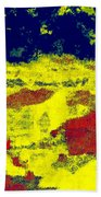 0375 Abstract Thought Beach Towel