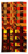 0409 Abstract Thought Beach Towel