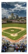 0443 Wrigley Field Chicago  Beach Towel