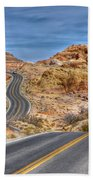0445 Valley Of Fire Nevada Beach Towel