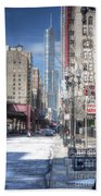 0450 Wabash Avenue Chicago Beach Towel
