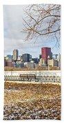 0452 Chicago Skyline Beach Towel
