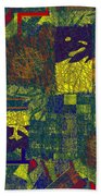 0466 Abstract Thought Beach Towel
