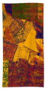 0470 Abstract Thought Beach Towel