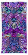 0476 Abstract Thought Beach Sheet