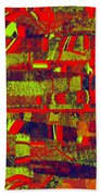 0480 Abstract Thought Beach Towel
