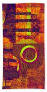 0482 Abstract Thought Beach Towel