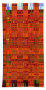 0493 Abstract Thought Beach Towel by Chowdary V Arikatla