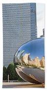 0553 Millennium Park Chicago Beach Towel