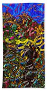 0629 Abstract Thought Beach Towel