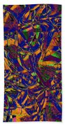 0630 Abstract Thought Beach Towel