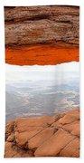 0708 Mesa Arch Beach Towel