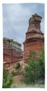 07.30.14 Palo Duro Canyon - Lighthouse Trail  19e Beach Towel